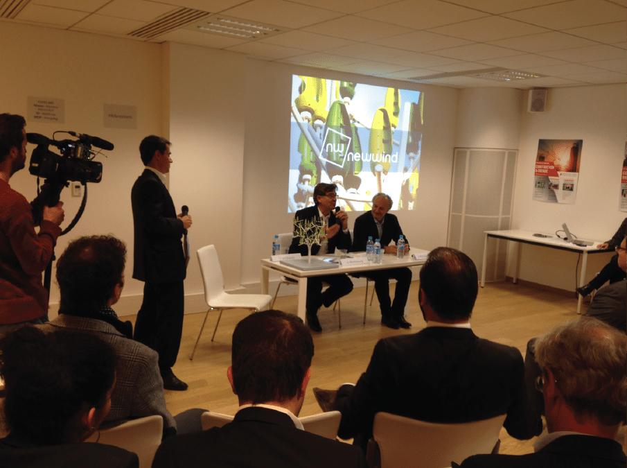 Arnaud Montebourg annonce son entrée au capital de New Wind