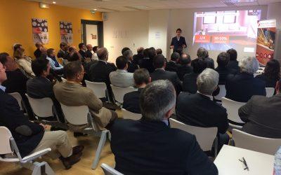 Visite de l'incubateur et pitch de start-up pour Eurovia