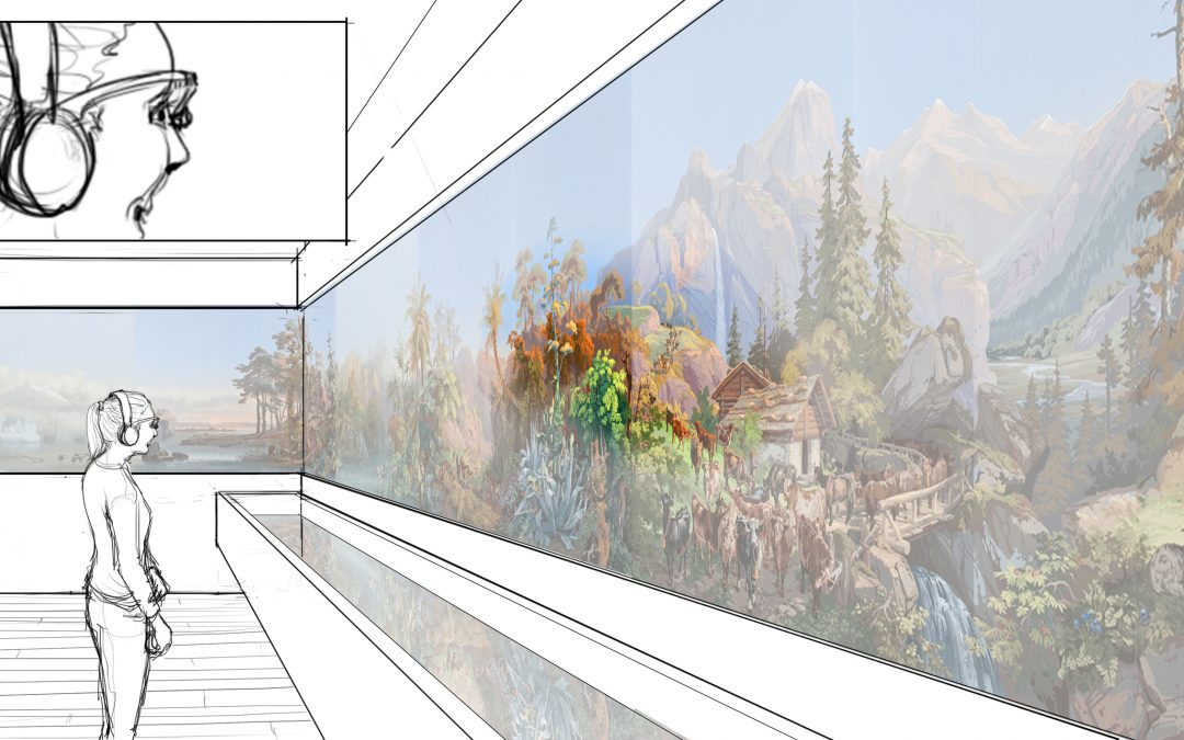 La startup Suricog démarre son partenariat avec le premier musée mondial