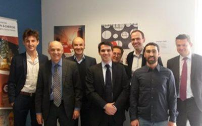 Visit of Pierre-André de Chalendar, CEO of Saint-Gobain