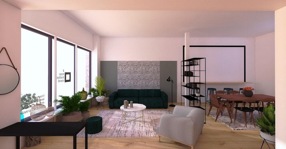 L'appartement éphémère de Mon Maître Carré