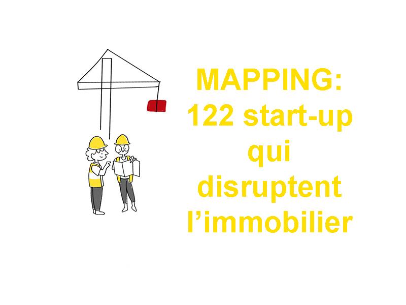 122 start-up qui « disruptent » la chaine de valeur de la construction et de l'immobilier