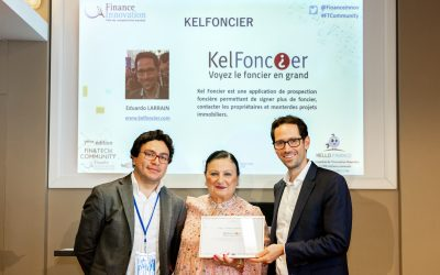 KelFoncier remporte le Label 2018 du pôle de compétitivité Finance & Innovation