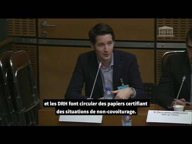 Retrouvez l'intervention de Klaxit à l'Assemblée Nationale