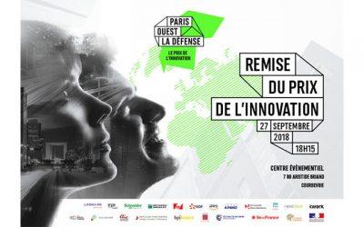 Cérémonie de remise du Prix de l'Innovation Paris Ouest La Défense