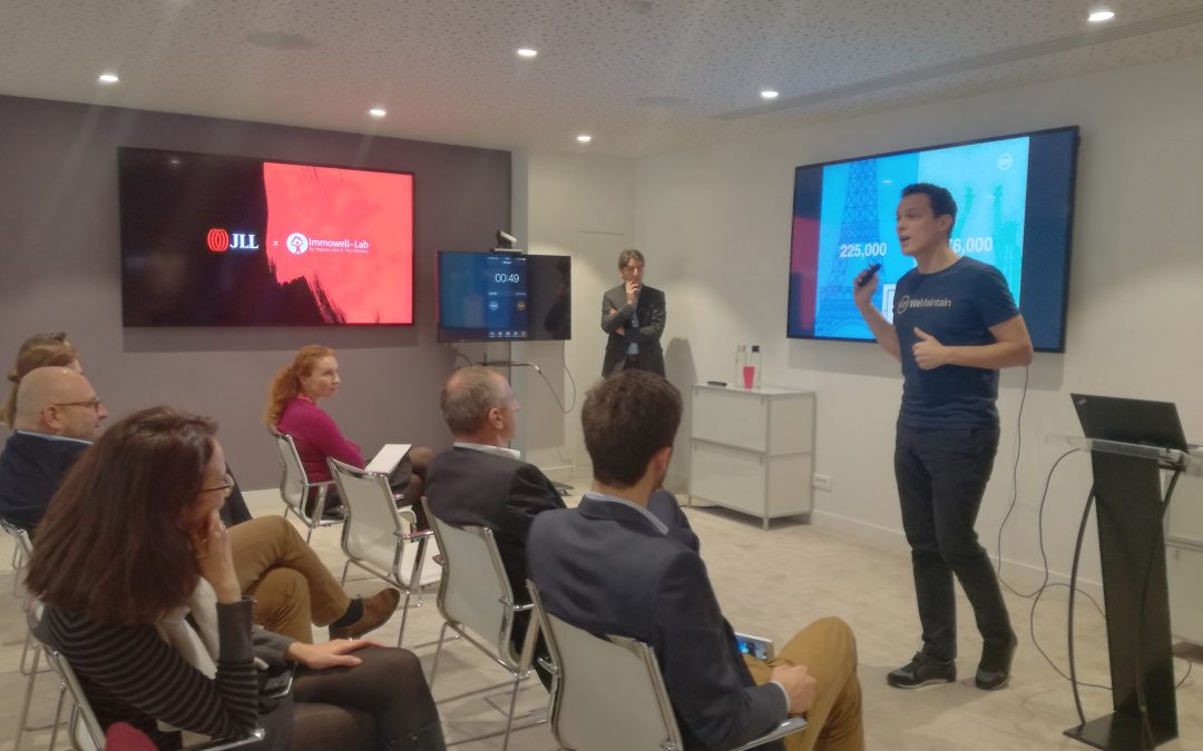 Lancement des « TechUp JLL » avec les start-up Streetco, Kandu, WeMaintain et PriceHubble