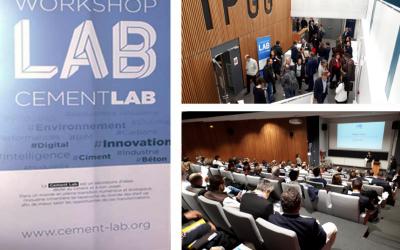 """Workshop CEMENT LAB sur la """"Réduction des émissions de CO2 dans le secteur de la construction"""""""