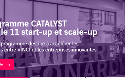 Le programme CATALYST accueille 4 start-up de l'écosystème d'Impulse Partners