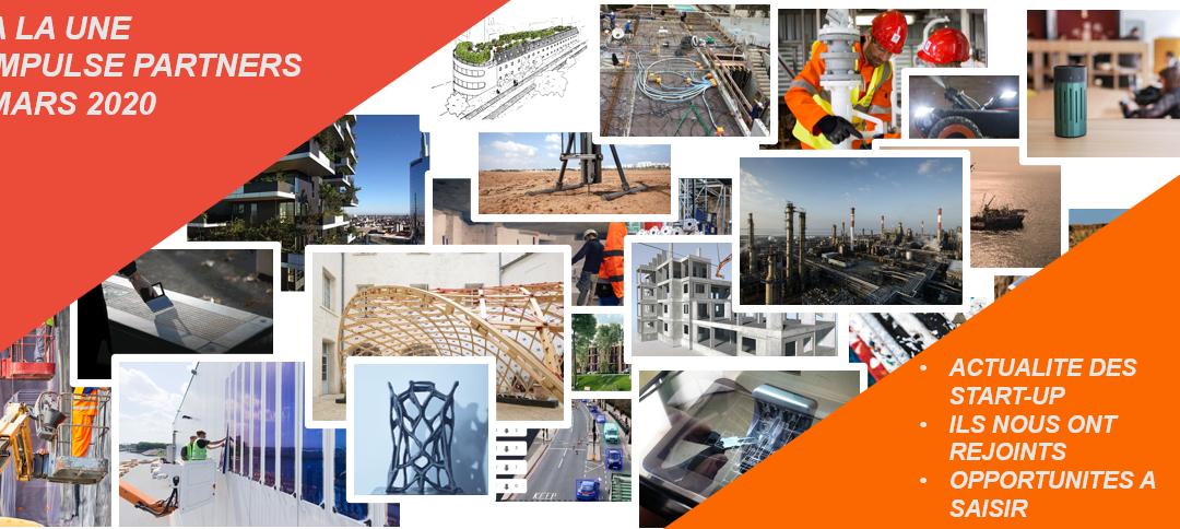 Newsletter Mars 2020 – Partie 2 – Actualités des start-up