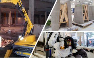 Les chantiers robotisés