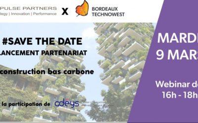 Partenariat avec Bordeaux Technowest