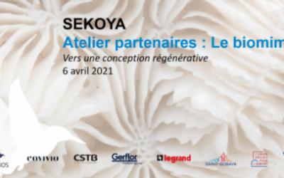 Sekoya atelier sur le biomimétisme